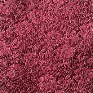 Burgundy Lace Body Con Holiday Dress